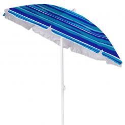 Plážový slunečník Copa Oxford modrobílý
