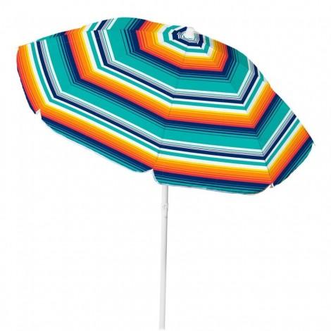 Plážový slunečník Copa TNT Tilt modrooranžový