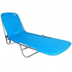 Plážové lehátko Copa Backpack světle modré