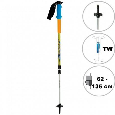 Trekingové hole Powerblast TW modrooranžové (2 ks)