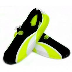 Dámské boty do vody Aqua Speed žlutočerné