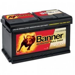 Palubní akumulátor Banner Running Bull AGM 80 AH