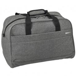 Cestovní taška D&N šedá 48 l