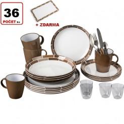 Melaminové nádobí Brunner Chocolate - Set All Inclusive
