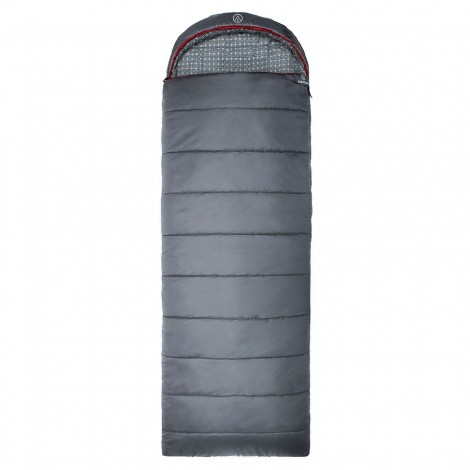Spací pytel Justcamp Melvin šedý bavlněný dekový