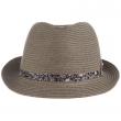 Pánský klobouk Stacy Adams Montgomery šedý