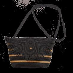 Plážová taška Cappelli Straworld Crossbody černá