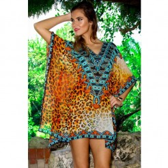Dámské plážové šaty La Moda Digitally Kaftan