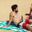 Plážová osuška Dock & Bay Cabana zelená L