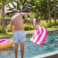 Rychleschnoucí osuška Dock&Bay Cabana růžová L