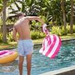Rychkeschnoucí plážová osuška Dock & Bay Cabana růžová XL