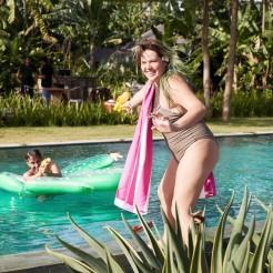 Rychleschnoucí osuška Dock&Bay Cabana růžová XL