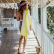 Plážová osuška Dock & Bay Beach žlutá XL