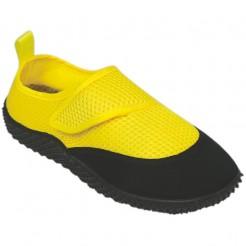 Dětské boty do vody Surf7 Velcro Aqua Shoes žluté