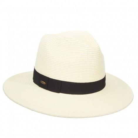 Dámský klobouk Scala Helena krémový