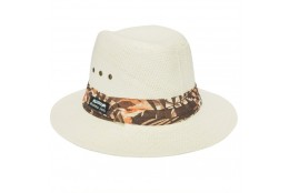 Pánský klobouk Panama Jack Safari Toyo hnědý