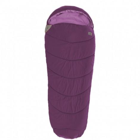 Spací pytel Easy Camp Ellipse fialový mumiový - výprodej