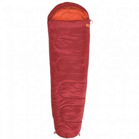 Spací pytel Easy Camp Cosmos červený mumiový - výprodej