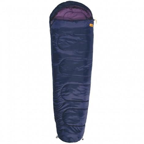 Spací pytel Easy Camp Cosmos fialový mumiový - výprodej