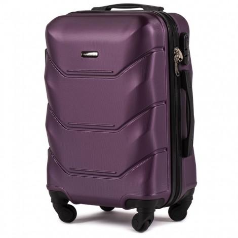 Cestovní kufr Wings Peacock fialový 36 l - palubní kufr