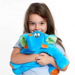 Dětský cestovní polštář Travel Blue slon