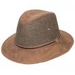 Pánský klobouk Dorfman Pacific Blend Safari hnědý