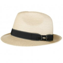 Pánský klobouk Scala Paper Braid Fedora