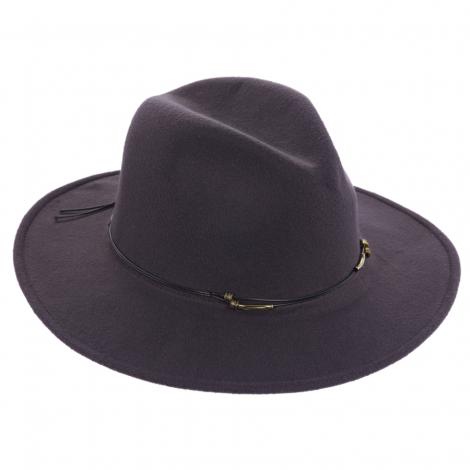 Dámský klobouk Scala Ultrafelt Safari šedý