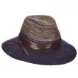 Dámský klobouk Scala Knit Safari modrý