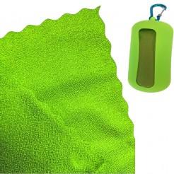 Chladící ručník Dry Drop Coolfca zelený