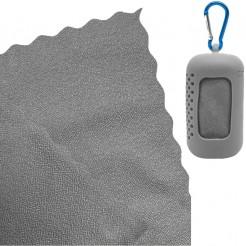Chladící ručník Dry Drop Coolfca šedý