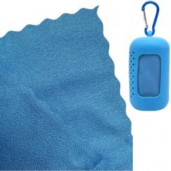 Chladící ručník Dry Drop Coolfca modrý