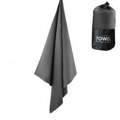 Cestovní rychleschnoucí ručník Dry Drop šedý