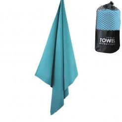 Cestovní rychleschnoucí ručník Dry Drop modrý