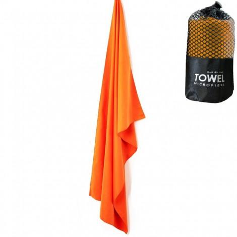 Cestovní rychleschnoucí ručník Dry Drop oranžový