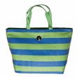 Plážová taška Cappelli Straworld Striped Tote