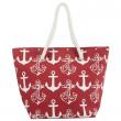 Plážová taška Cappelli Straworld Tote červená