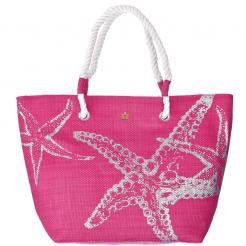 Plážová taška Cappelli Straworld Beach růžová