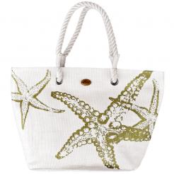 Plážová taška Cappelli Straworld Beach bílá