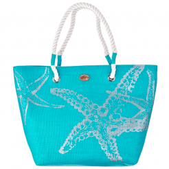 Plážová taška Cappelli Straworld Beach modrá
