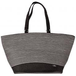 Plážová taška Cappelli Straworld Matalic Tote černá