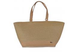 Plážová taška Cappelli Straworld Matalic Tote zlatá