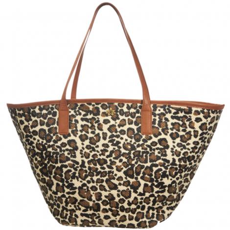 Plážová taška Cappelli Straworld leopard