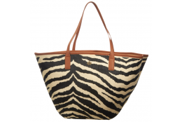 Plážová taška Cappelli Straworld zebra