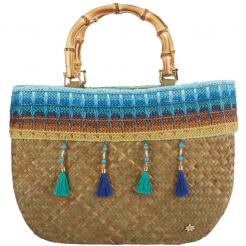 Plážová taška Cappelli Straworld Trim modrá