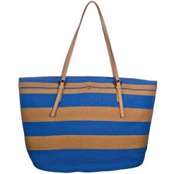 Plážová taška Cappelli Straworld Large Tote modrá