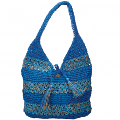 Plážová taška Cappelli Straworld Hobo modrá