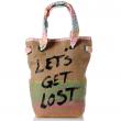 Plážová taška s karimatkou Kathy - výprodej