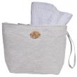 Toaletní taška Cappelli Straworld W/Lurex bílá