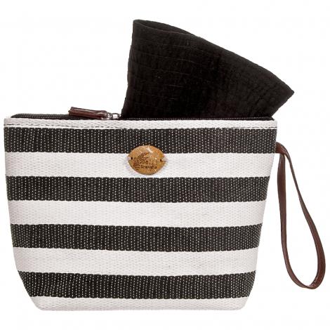 Plážová taška Cappelli Straworld Toyo černá